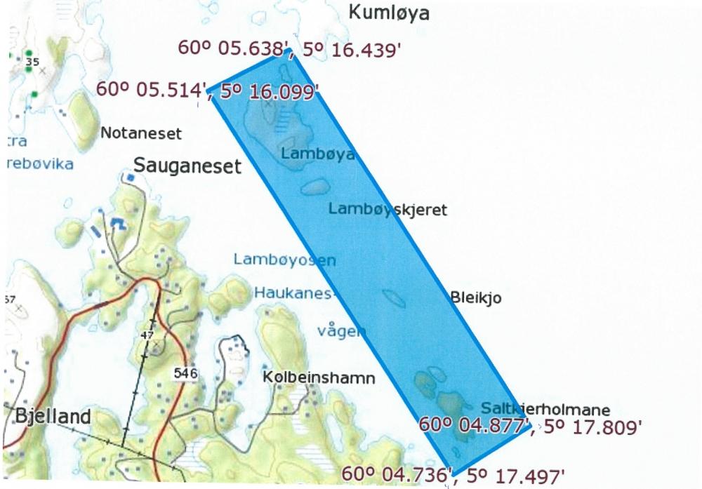 kart over austevoll Fisket etter leppefisk åpmandag og er i full gang   Kyst.no kart over austevoll