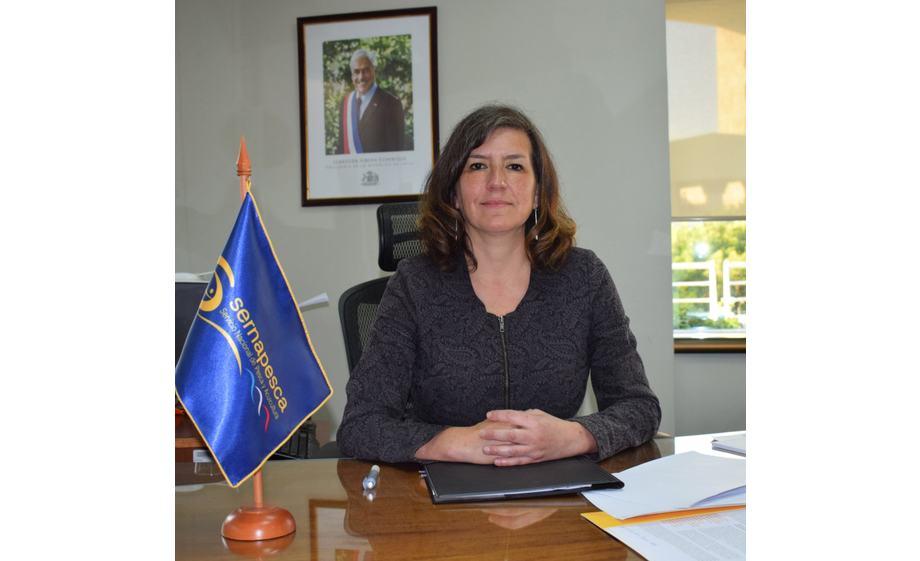 Alicia Gallardo, directora nacional de Sernapesca. Foto: Sernapesca.
