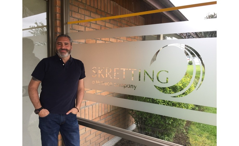 Gastón López will become commercial manager at Skretting North America. Photo: Skretting Chile