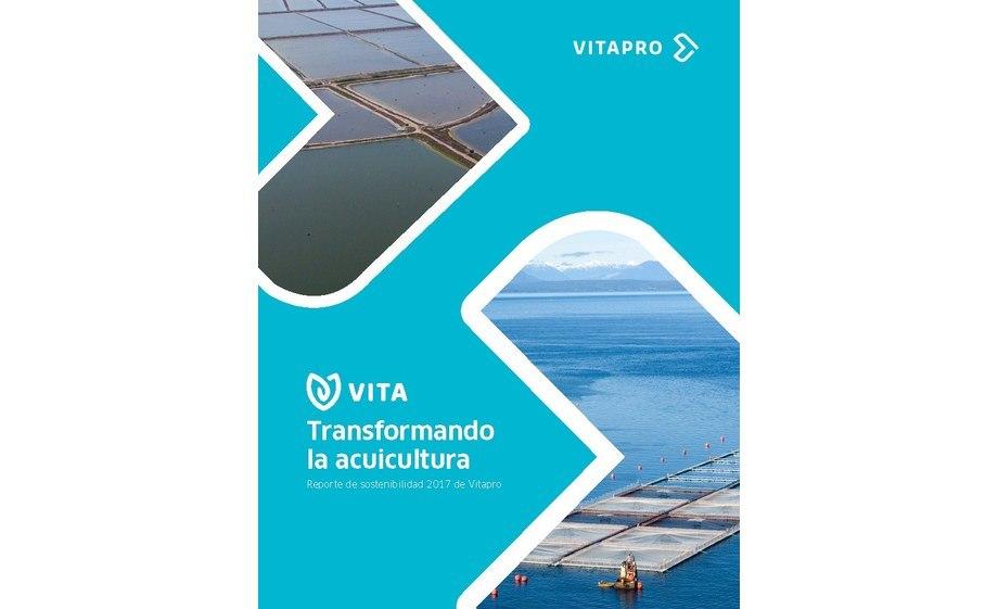Foto: Portada del Reporte de sostenibilidad 2017 de Vitapro.