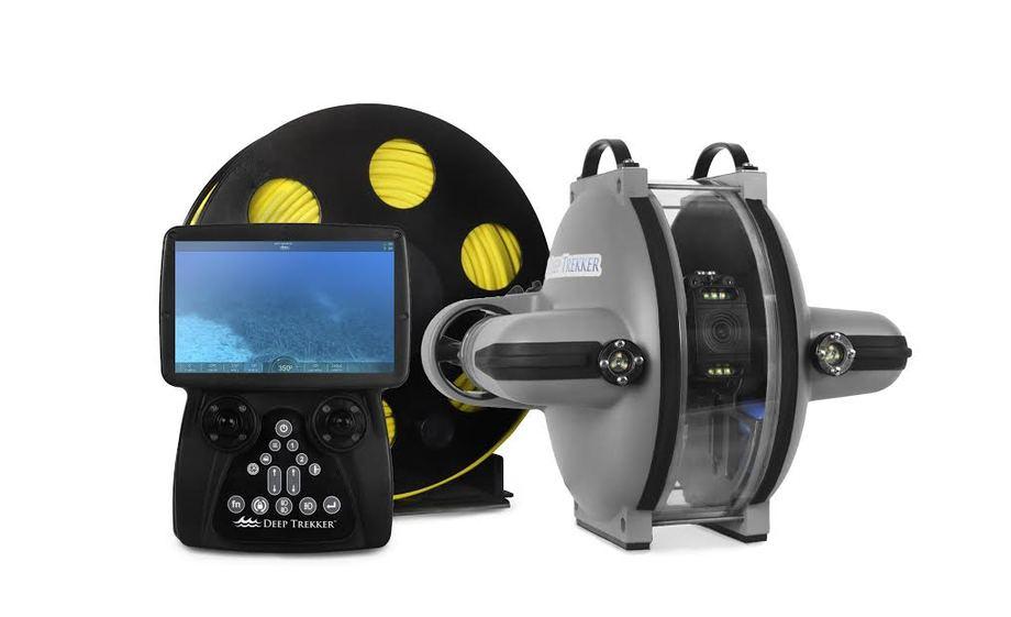 Deep Trekker has launched DTG3 ROV for marine use. Image/Deep Trekker