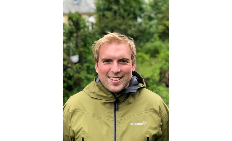 Nyansatt Endre Karlsen vil arbeide med fiskehelse og teknisk støtte hos MSDs kunder med særlig vekt på region Nord. Foto: MSD Animal Health.