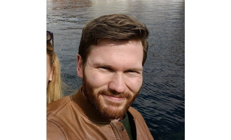 Akvahub har tilsett Trygve Hallberg (31) som prosjektleiar i Akvahub. Foto: privat.