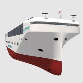 Illustrasjon: Green Ship of the Future