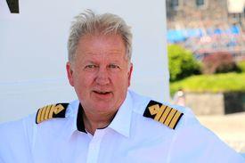 Kaptein og eier Terje Kragset. Foto: Andrea Bærland