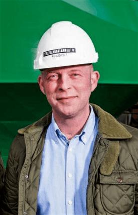 Ny markedssjef i Vaagland Båtbyggeri, Asbjørn Tøssebro . Foto: Vaagland Båtbyggeri