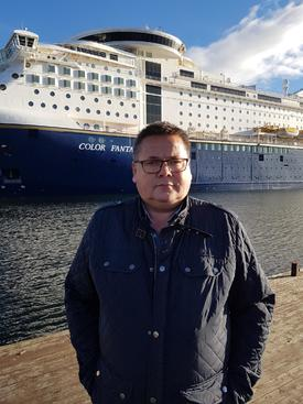 Leder av Norges Sjømannsforbund Johnny Hansen