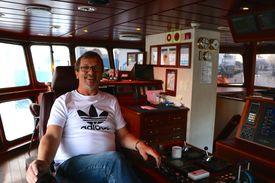 Kaptein Kurt Kirkeland på M/S