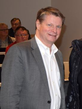 Maritim bransjesjef i Norsk Industri, Lars Gørvell-Dahll.