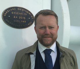 Daglig leder i Vaagland Båtbyggeri AS. Foto: Privat