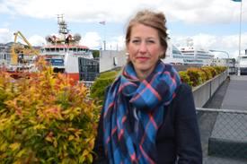 Tanja Hoel daglig leder i The Seafood Innovation Cluster. Foto: Therese Soltveit.