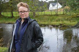 Fiskeforvalter Gry Walle fra Fylkesmannen i Hordaland. Foto: Therese Soltveit.