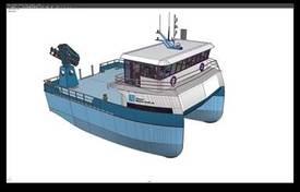 Grimen er av båttypen Helgøy 15. Den er en avansert servicebåt, designet for å betjene alle tenkelige operasjoner, melder Risnes Marine Craft.