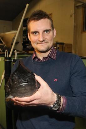 Dan Kristian Larssen, daglig leder i Atlantic Lumpus satser for fullt på rognkjeks. Foto: Atlantic Lumpus