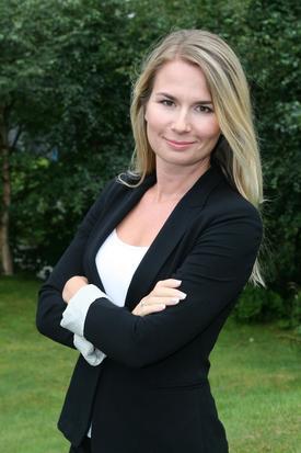 Hanne Dankertsen, kommunikasjonssjef i Cargill Aqua Nutrition. Foto: Ewos/Cargill.