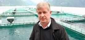 Geir Andreassen sa under rensefisk-konferansen i Oslo mandag, at rensefisken har hatt et stort fokus hos de. Foto: FHF