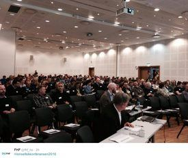 Årets rensefisk-konferanse. Foto: Twitter/FHF.