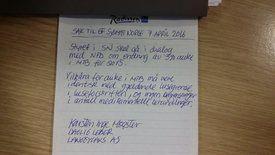 Forslag til endringer av lusegrense for 5 % økt MTB, skrevet av Langøylaks daglig leder Karsten Inge Møgster. Foto: Sjømat Norge.