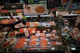 Laksefisk-andelen av sashimimarkedet er økende. Samtidig ser man at norsk laks tar stadig større andeler av laksefisk til sashimi på bekostning av ørret fra Chile. Foto: Pål Mugaas Jensen.