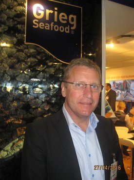 Konsernsjef Andreas Kvame i Grieg Seafood. Foto: Rob Fletcher.