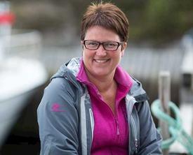 Ingrid Kassen, administrerende direktør i eksportselskapet Norwell AS sier de ligger omtrent på samme nivå som i fjor. Foto: Norwell