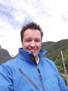 Thomas Langhelle, driftsleder i Ryfylke Rensefisk. Foto: Privat.