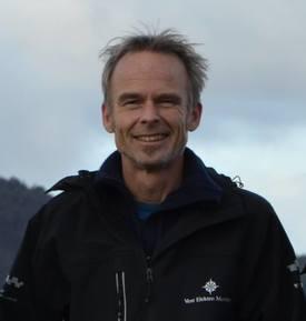 Nils Bjarte Sætrevik, daglig leder i Vest Aqua Base. Foto: Linn Therese S. Hosteland.