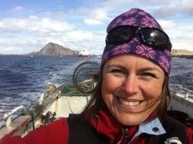 Kristin Ottesen forteller at skottelus er en større utfordring enn lakselus lengst nord i regionen. Foto: HaVet.