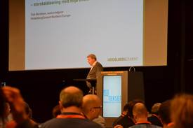 Tom Berntsenmsenior rådgiver i Heidelberg Cement Northern Europe. Foto: Magnus Petersen.