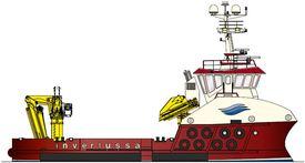 Illustrasjon av opsjonsfartøyet