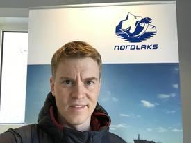 Eirik Welde, daglig leder i Smolten AS sier at arbeidet går strålende, og alt går etter planen. Foto: privat.