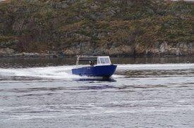 Lumpfish er båten som bruker til å drive garn og fiske av rognkjeks. Foto: Skjerneset Fisk AS