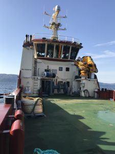 Kiera Fiona er en halv meter lengre enn søsterskipet Gina Mary. Foto: Inverlussa.