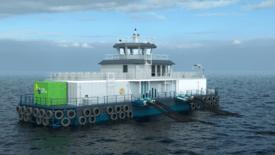 Illustrasjonsfoto av Fjord Hybrid. Kilde: Fjord Maritime.