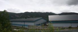 Eksisterende rensefiskanlegg i Svelgen. Foto: Steinvik.