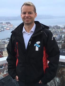 Harald Lien daglig leder i Fluctus. Foto: Fluctus.