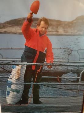 Per Anton Løfsnæs har jobbet som daglig leder i Bjørøya AS i over 31 år, nå er han klar for nye utfordringer. Her ser du ett bilde av