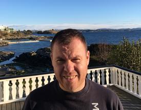 Tore Bakke er både medeier og kaptein ombord på Seihav. Foto: Tore Bakke.