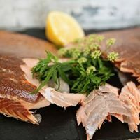 The volume of salmon exports rose by 13 per cent.