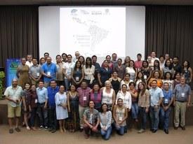Asistentes al 4to Congreso de la Sociedad Mexicana para el Estudio de Florecimientos Algales Nocivos y 2da. Reunión Asociación Latinoamericana para el Estudio de Algas Nocivas. Imagen: IFOP.