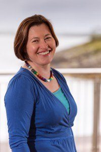 Heather Jones, directora ejecutiva de SAIC. Fuente: SAIC.