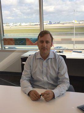 CEO de BluGlacier, Sebastián Goycoolea. Foto: BluGlacier.