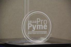 Sello Pro Pyme. Foto: Francisco Soto, Salmonexpert.
