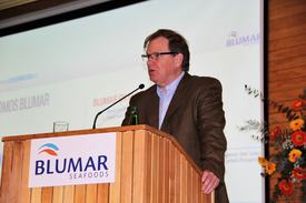 Gerardo Balbontín, gerente general de Blumar Seafoods.