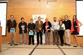 Representantes de los grupos de interés de Blumar. Foto: Blumar Seafoods.