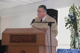 Heinz Pearce, gerente general de Asenav. Foto: Loreto Appel, Salmonexpert.