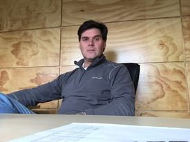 Mauricio Toirkens, gerente Comercial de Salmones Austral. Foto: Salmones Austral.