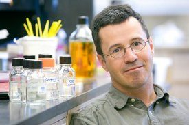 Martin Wiedmann, Associate Professor of Food Science (FOOD), in the laboratory.