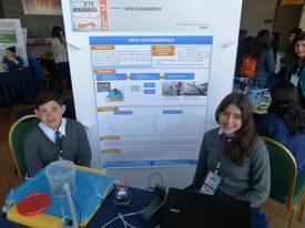 Proyecto de boya oceanográfica. René Sáez y Magdalena Ojeda. Foto: Loreto Appel, Salmonexpert.