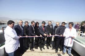 Inauguración centro Aquapacífico. Foto: FCh